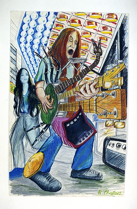 Busker by Richard Preston