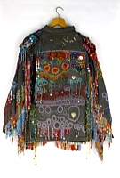 Dripping, Beaded Military Jacket, 1984-87