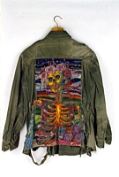 Grateful, Embroidered Military Jacket, 1981-88