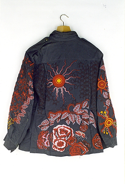 5.Flowersun, Beaded Military Jacket by Richard Preston