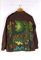 Forest Canopy, Beaded Military Jacket, 1988/2003-04
